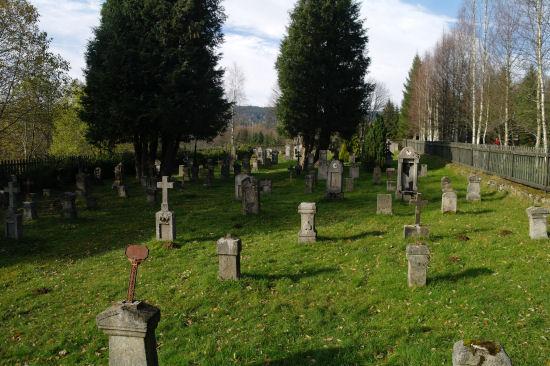 Výsledek obrázku pro kvilda hřbitov